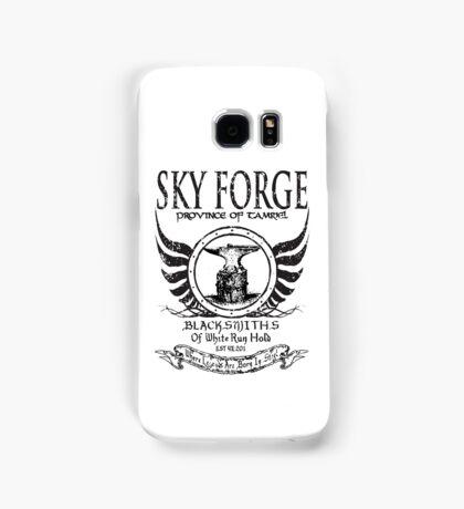 SkyForge - Where Legends Are Born In Steel Samsung Galaxy Case/Skin