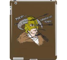 Arrow To The Knee iPad Case/Skin