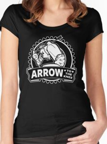 Arrow To The Knee Women's Fitted Scoop T-Shirt