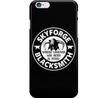 Skyforge - Where Legends Are Born In Steel iPhone Case/Skin