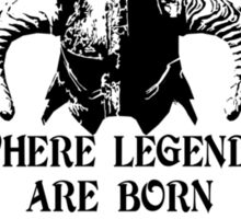 Skyforge - Where Legends Are Born In Steel Sticker