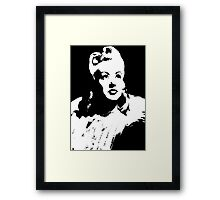 Betty Grable In Victory Rolls Framed Print