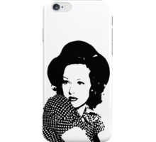 Betty Grable And Cute Hat iPhone Case/Skin