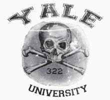 YALE university - Skull and Bones by inkDrop