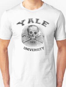 YALE university - Skull and Bones T-Shirt
