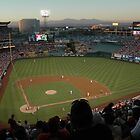 Angels Stadium by Lisa Ouillette