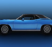 1970 Cuda 440 Illustration from VivaChas! by ChasSinklier