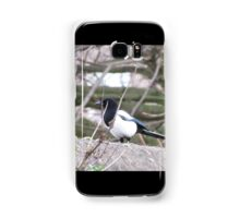 The magpie Who wont fly  Samsung Galaxy Case/Skin