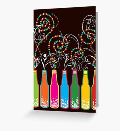 Bubbly Celebrations! Greeting Card