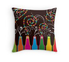 Bubbly Celebrations! Throw Pillow
