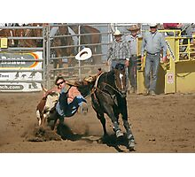 Tasting that Rodeo Dust Photographic Print