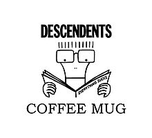 Descendents – Coffee Mug by PonchTheOwl