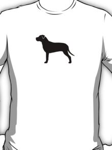 American Pit Bull Terrier Silhouette T-Shirt