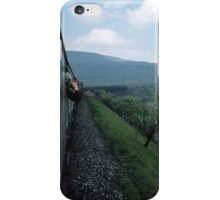 Approaching Ribblehead Viaduct on Carlisle Settle Railway North Yorkshire England 198405310008  iPhone Case/Skin