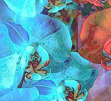Complementary Blooms by Lynda Lehmann