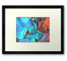 Complementary Blooms Framed Print