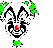 187 Clown by Ledbetterkilla
