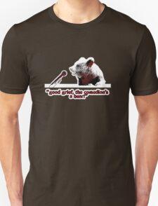 Good grief, the comedian's a bear! T-Shirt