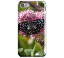 Blue Tiger Butterfly iPhone Case/Skin