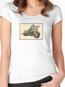 HARLEY STYLE WLA SOLDIER Women's Fitted Scoop T-Shirt