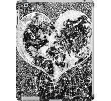 """Love Yourself"" Heart shaped world, Ink 1990 iPad Case/Skin"