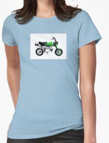 MONKEY BIKE ARTWORK MOTORCYCLE Womens Fitted T-Shirt