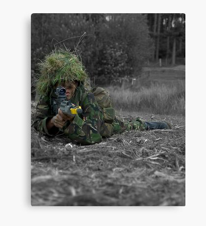 ready for action Canvas Print