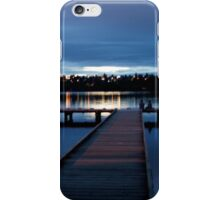 Lights Under A Blue NIght Sky iPhone Case/Skin
