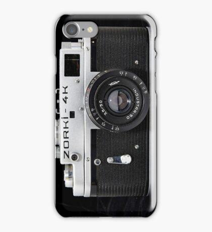 Zorki 4 Russian 35mm camera iPhone Case/Skin