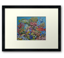 Red Sea Reef Framed Print