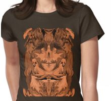 Seeking comfort - tee  Womens Fitted T-Shirt