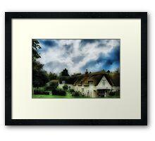 Sweet Cottage Framed Print