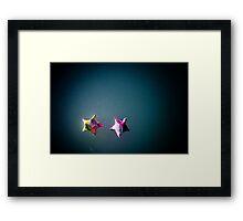 stars in the sky Framed Print