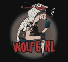 Wolf Girl Kids Clothes