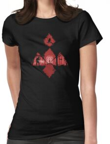 Walk With Me Womens Fitted T-Shirt