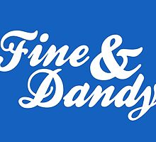 Fine & Dandy Extras: Mid Blue by M  Bianchi