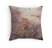 Rust Abstraction Throw Pillow