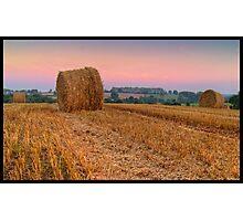 Herefordshire Harvest Photographic Print