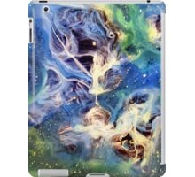 White Light Watercolor Abstraction Painting iPad Case/Skin