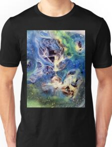 White Light Watercolor Abstraction Painting Unisex T-Shirt