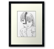 Shintaro – Where is My Mind? Framed Print