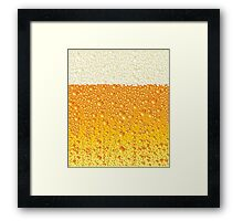 Ice Cold Beer Framed Print