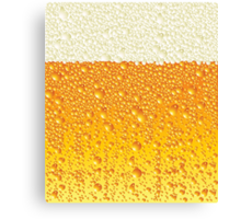 Ice Cold Beer Canvas Print