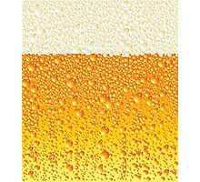Ice Cold Beer Photographic Print