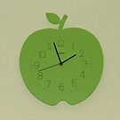 Tick, Tock - Apple Clock by BlueMoonRose