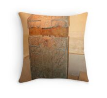 Pictish Carved Standing Stone side 1 Throw Pillow