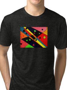 Retro Abstract Tri-blend T-Shirt