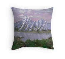 Teton Splendor Throw Pillow