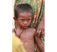 Khmer Boy Photographic Print