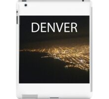 'DENVER' template iPad Case/Skin